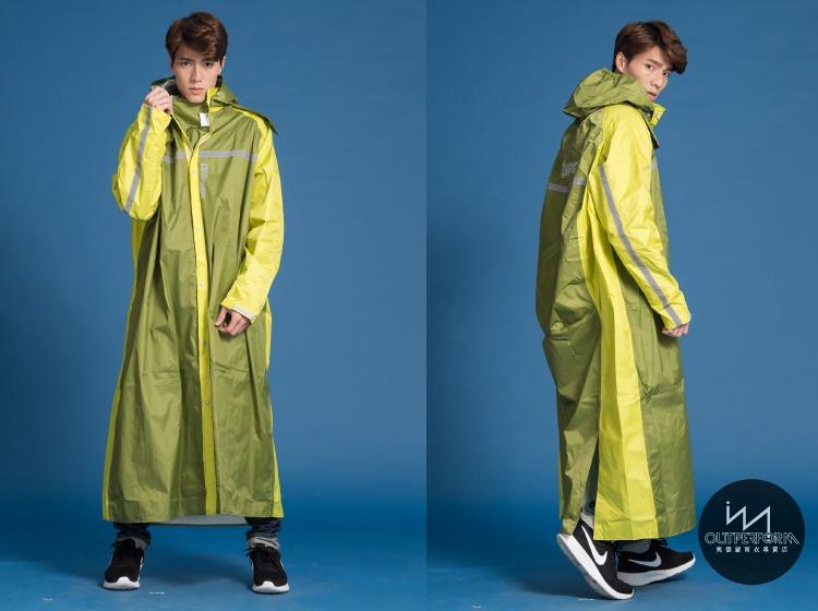 頂峰背包前開式連身雨衣 17