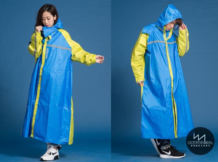 頂峰背包前開式連身雨衣 15