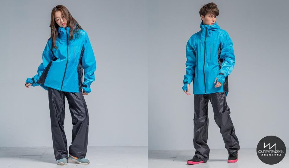 玩酷兩截式風雨衣 11