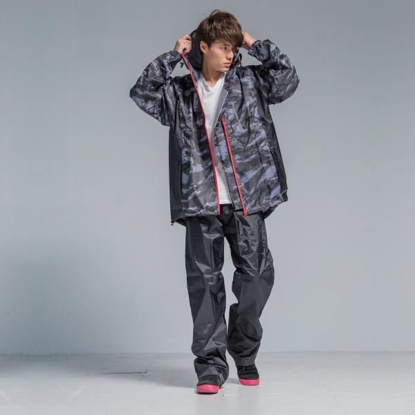 玩酷兩截式風雨衣 2