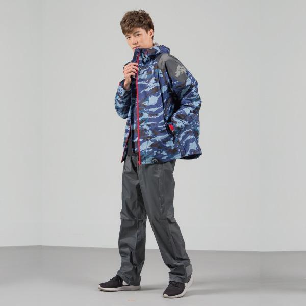城市遊俠背包款風雨衣外套 4