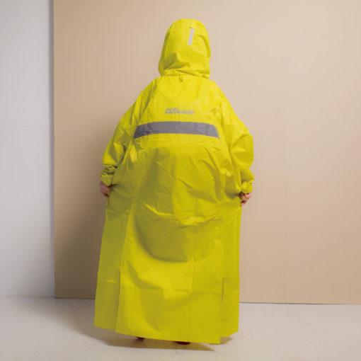 頂峰兒童背包款半開連身雨衣 4