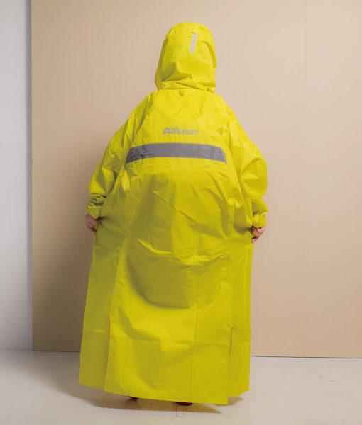頂峰兒童背包款半開連身雨衣 7