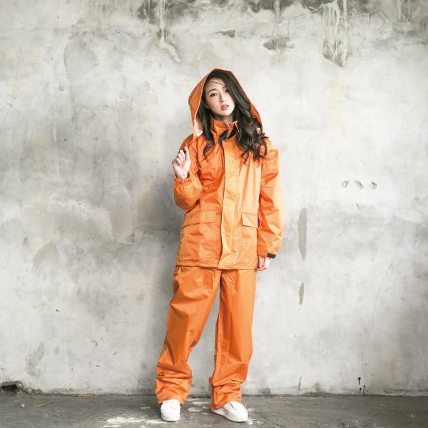 本格style日系兩截式風雨衣 3