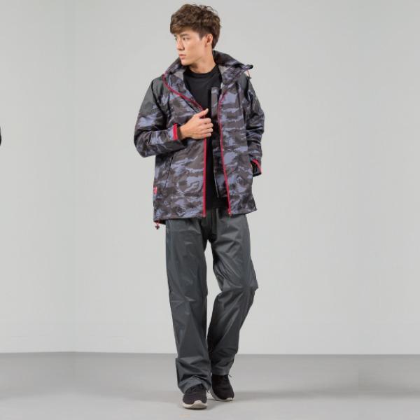 城市遊俠背包款風雨衣外套 2