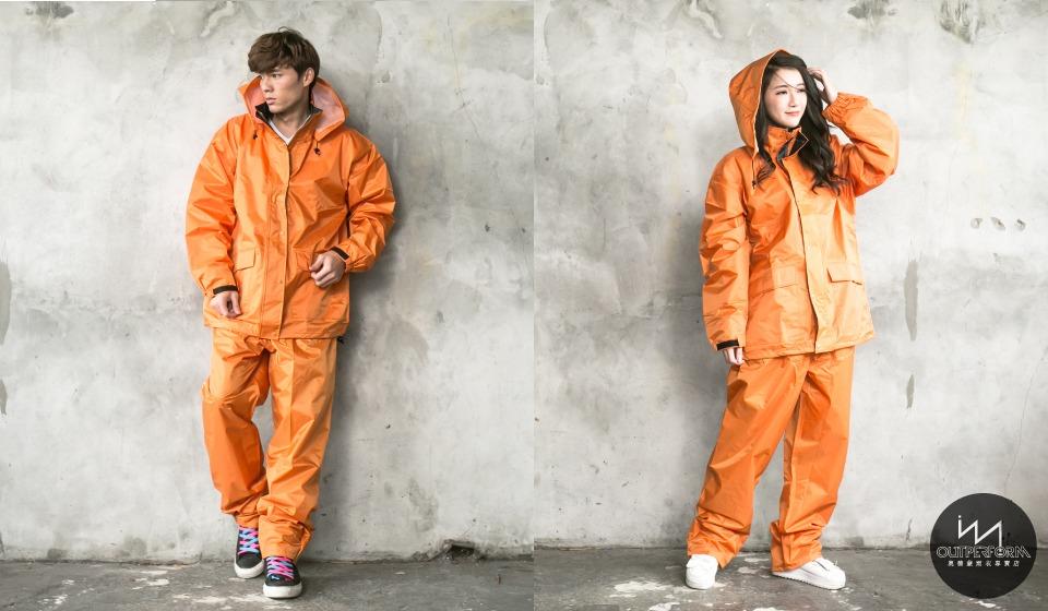 本格style日系兩截式風雨衣 10