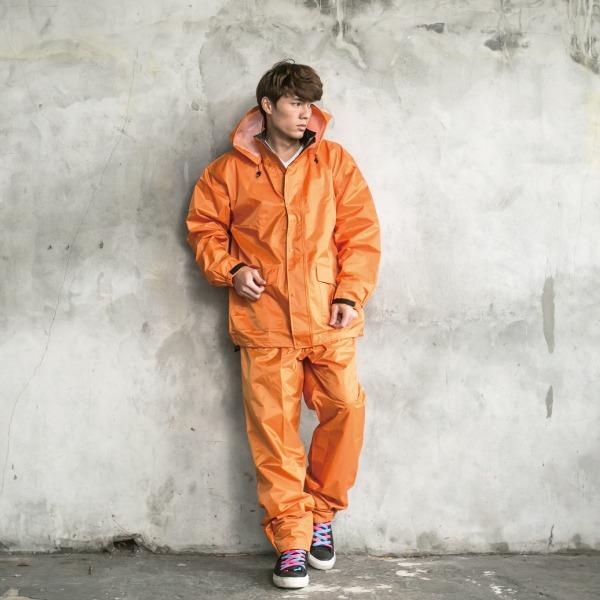 本格style日系兩截式風雨衣 4