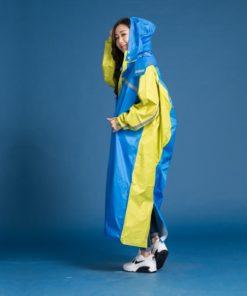 頂峰背包前開式連身雨衣 11