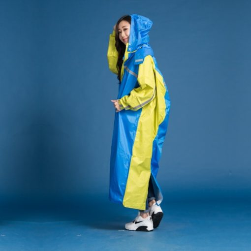 頂峰背包前開式連身雨衣 6