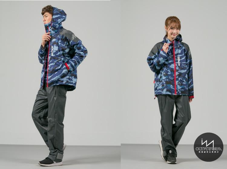賽克兩截式風雨衣 15