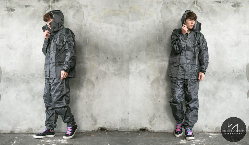 日本超人氣兩截式風雨衣 10