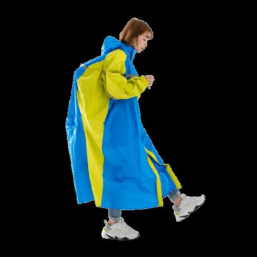 頂峰背包前開式連身雨衣 1