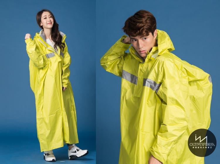 頂峰背包款太空式連身雨衣 10