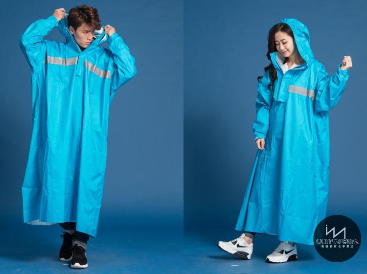 頂峰背包款太空式連身雨衣 12