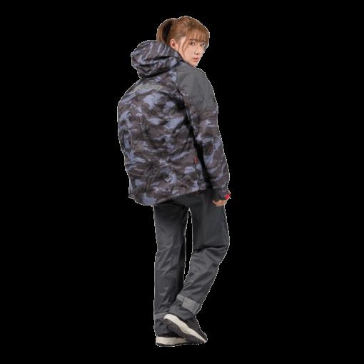 城市遊俠背包款兩截式風雨衣 14