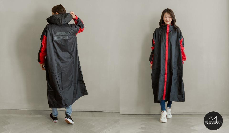 勁馳前開式連身雨衣 11