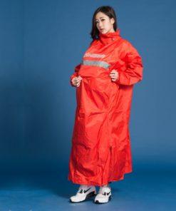 頂峰背包款太空式連身雨衣 7