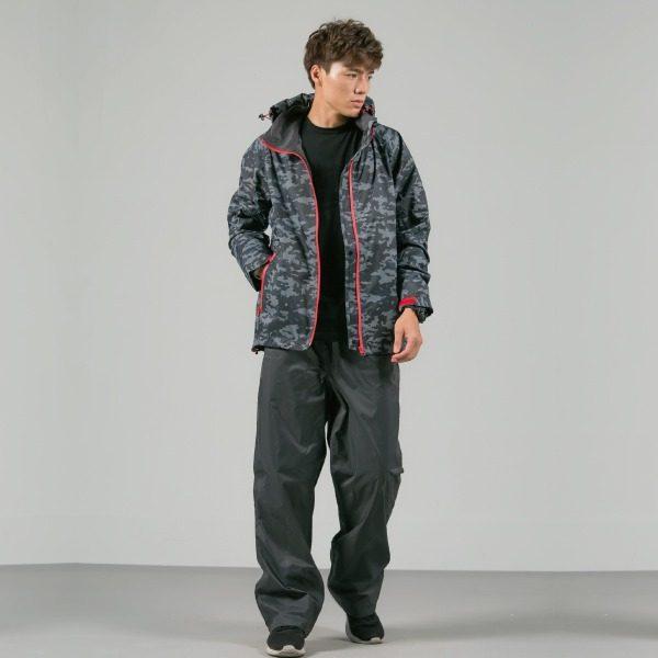 頑咖防水透氣機能風雨衣(三色) 5