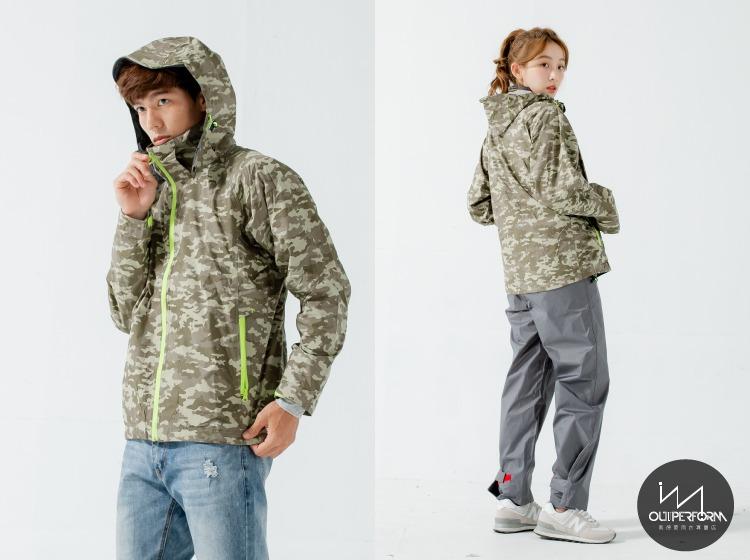頑咖防水透氣機能風雨衣(三色) 11