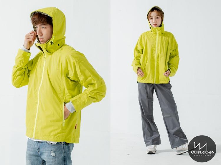 頑咖防水透氣機能風雨衣(三色) 12