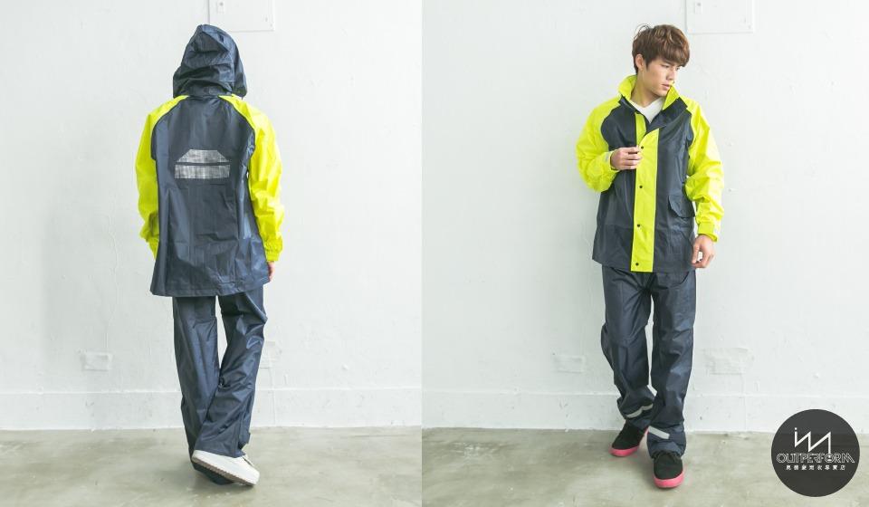 風動兩截式風雨衣 10