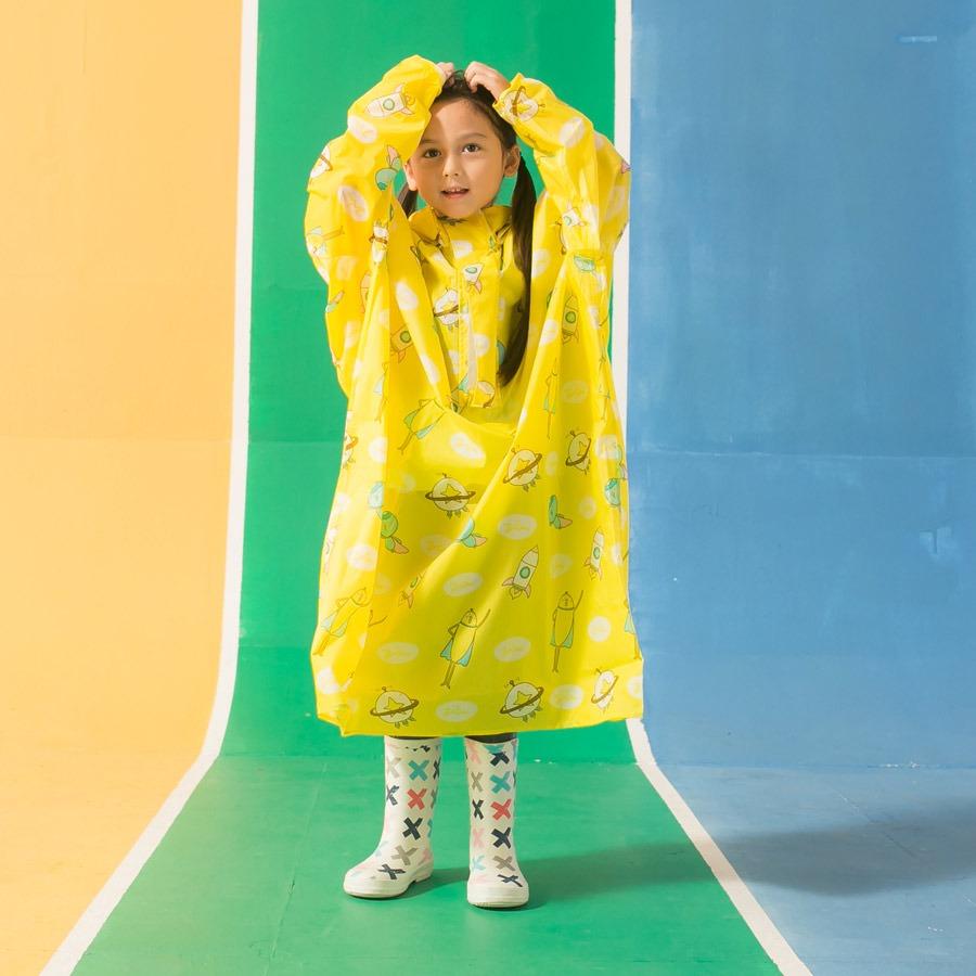 兒童背包款半開連身-趣味香蕉 9