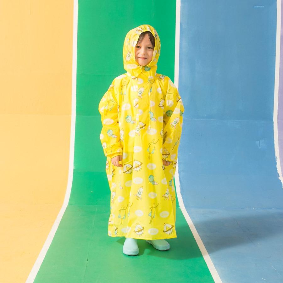 兒童背包款半開連身-趣味香蕉 10