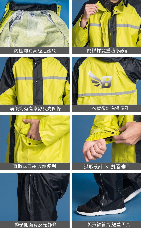 犀爾德兩件式雨衣 12
