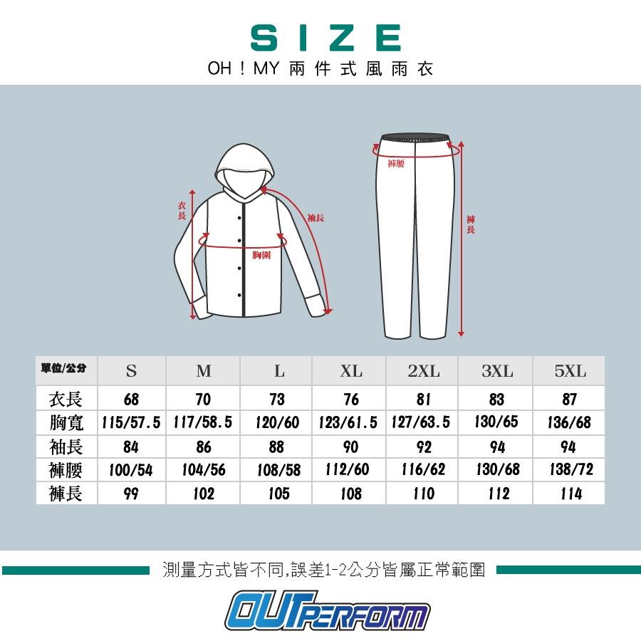 衣服尺寸對照表