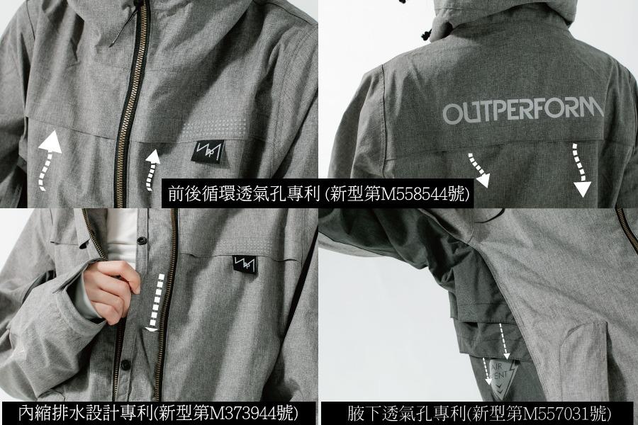 G.T對流透氣風雨衣外套 26