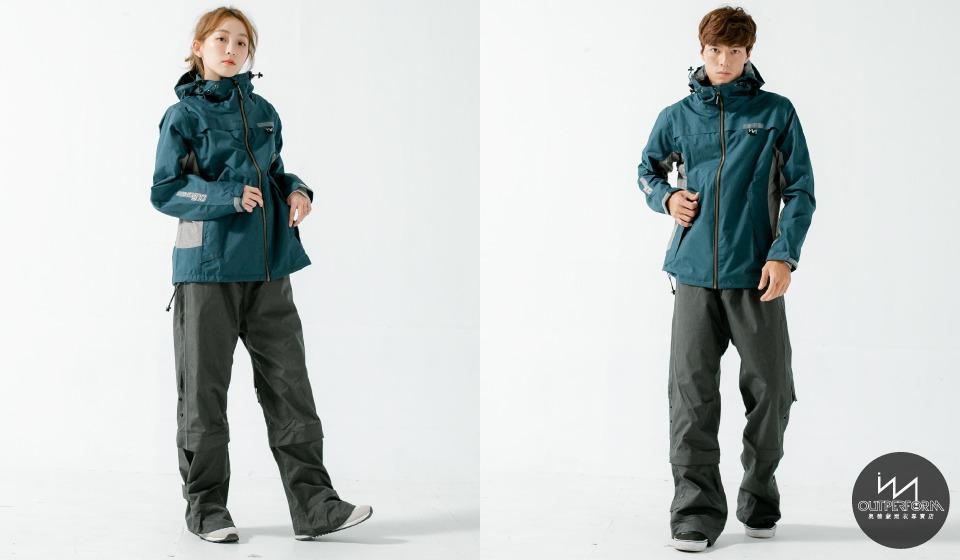 G.T對流透氣兩件式風雨衣 7
