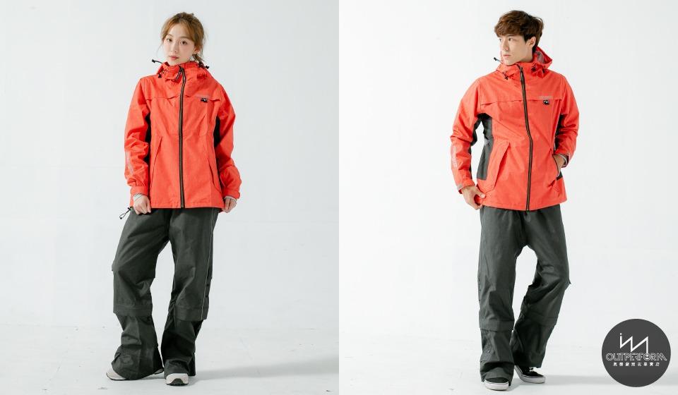 G.T對流透氣兩件式風雨衣 5