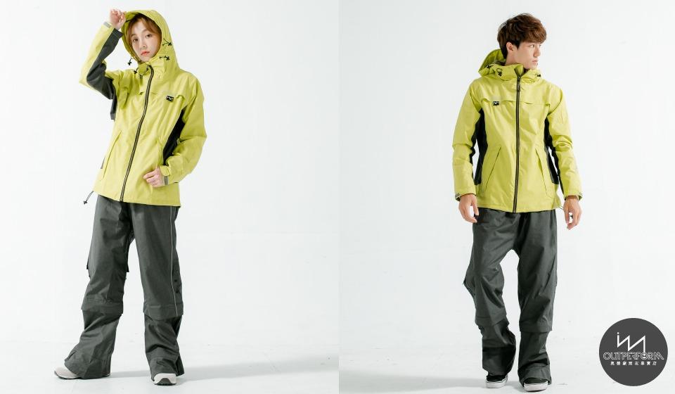 G.T對流透氣兩件式風雨衣 3