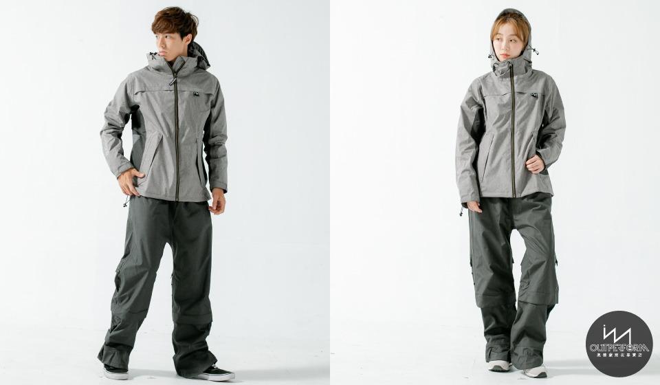 G.T對流透氣兩件式風雨衣 4