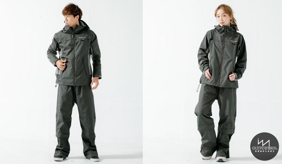 G.T對流透氣兩件式風雨衣 6