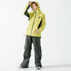 G.T多功能性兩件式風雨衣-青檸黃-1