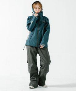 G.T多功能性兩件式風雨衣-藏青色-1