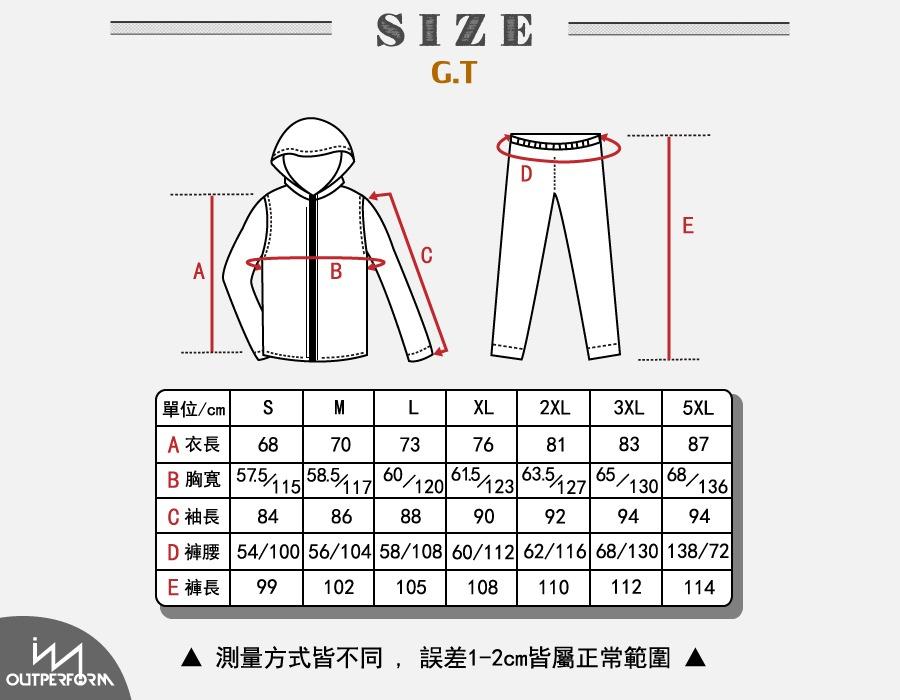 G.T對流透氣風雨衣外套 25