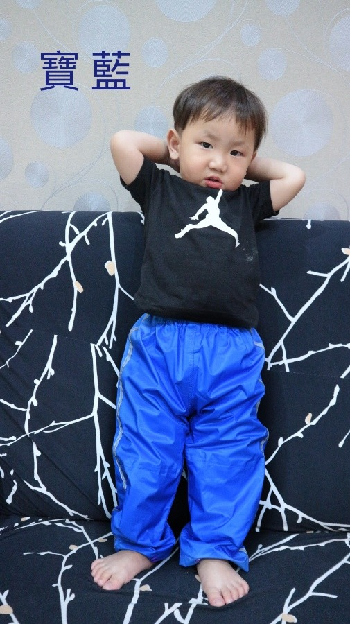兒童雨褲/兩段式調整長度 13