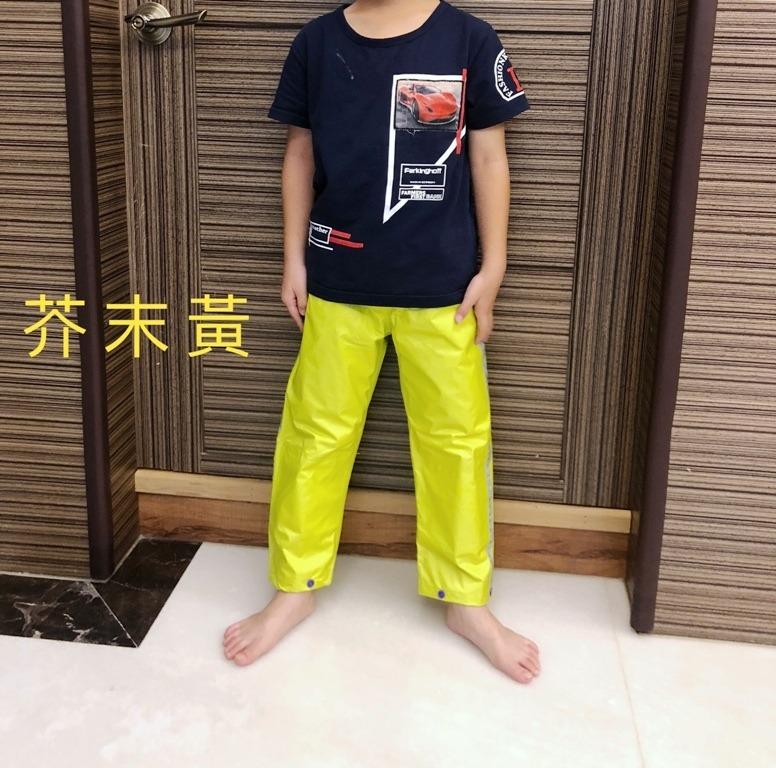兒童雨褲/兩段式調整長度 15