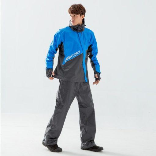 終結者斜開專利兩件式風雨衣 5