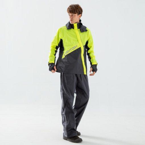 終結者斜開專利兩件式風雨衣 2